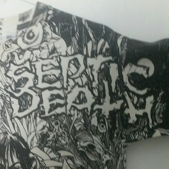 Vintage 00\u2019s Septic Death Pushead